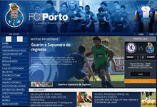Púrpura Design redesenha sítio do FCP