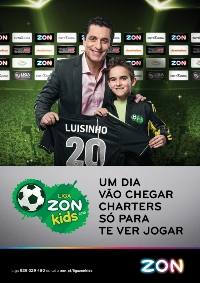 Futre &quot;promete&quot; charters para o melhor da Liga ZON Kids