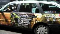 Taxi Advertising e as suas campanhas 24 horas por dia