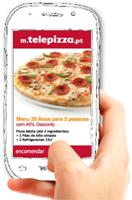Telepizza aposta no mobile