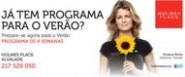 J tem programa para o vero?