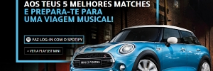 A MINI e o Spotify avaliam a sintonia musical, com a Initiative
