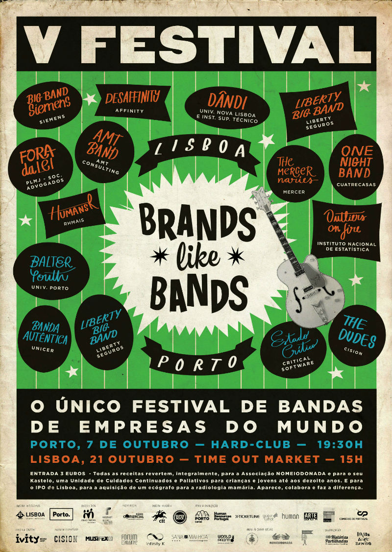 Brands like bands 2017 cartaz low