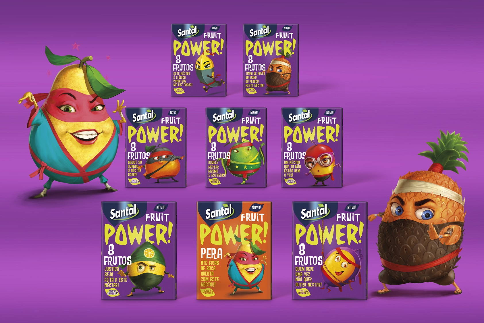 Ogilvy dá 'power ninjas' à Santal