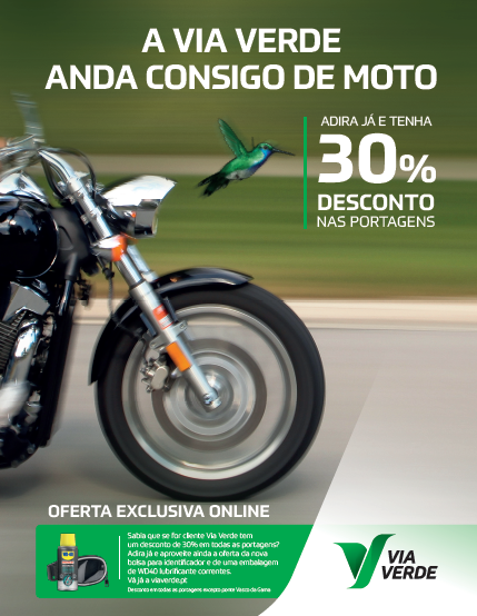 Via Verde mais digital com nova oferta