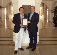 Starwood Awards premeia diretor de vendas e marketing do Sheraton Hotel