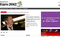 Público com área exclusiva no site para Euro 2012