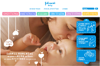 Wiz Interactive renova site da Johnson's Baby