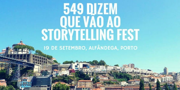 Tell Me Stories na Alfândega do Porto