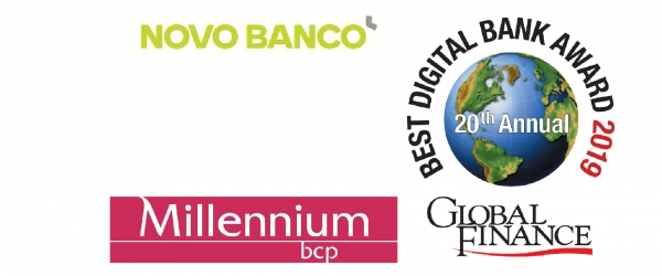 Novo Banco e Millennium são Digital Banks (Awards)