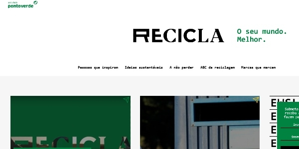 Esta revista Recicla