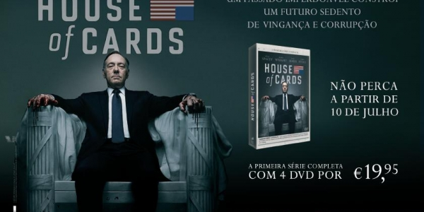 House of Cards é com a Impresa