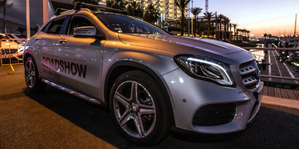 "Mercedes está ""On the Road"" em Vilamoura"
