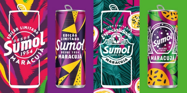 O Packaging of the World bebe Sumol Maracujá