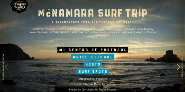 McNamara Surf Trip, by Born
