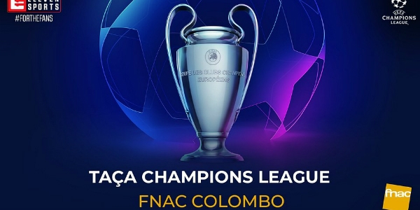 A taça da Champions League compra no Colombo