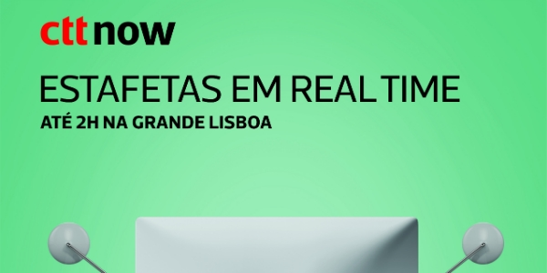 Os CTT e a Partners correm em real time