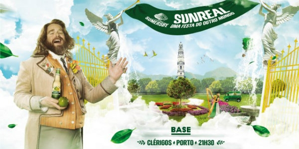 Somersby leva Sunreal Party ao Porto