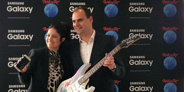 Samsung entra na música do Rock in Rio-Lisboa