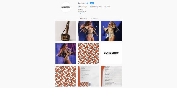 Burberry muda de visual (e mostra no Insta)