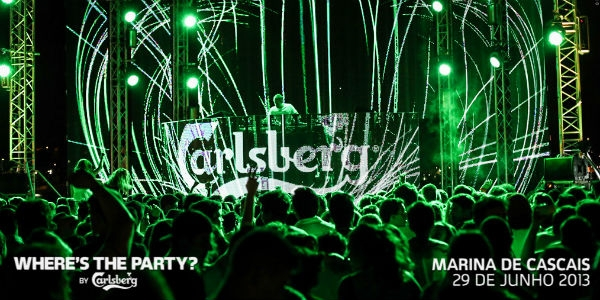 Where is the party? A Carlsberg sabe