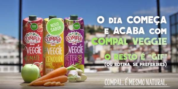 Compal é Veggie no digital com Young&Rubicam