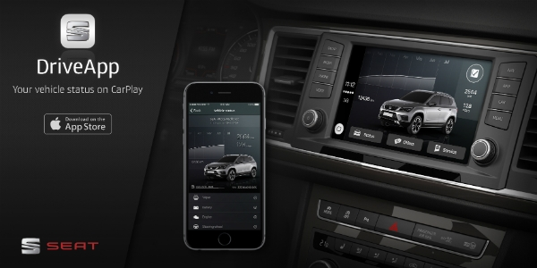 SEAT cria app compatível com CarPlay da Apple