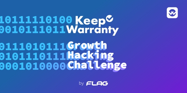 Keep Warranty iça a FLAG no Growth Hacking