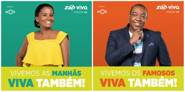 Vai encontrar ZAP (Viva) no zapping da NOS
