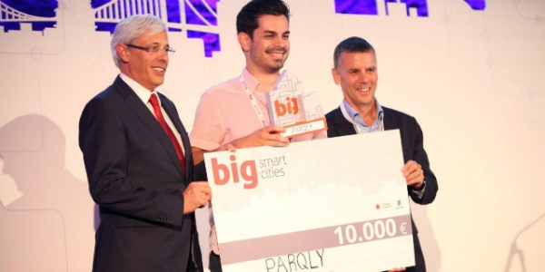 Parqly vence 4.ª edição do Big Smart Cities