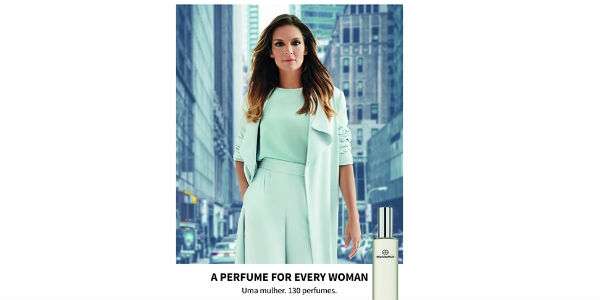 "Equivalenza tem perfume ""for every woman"""