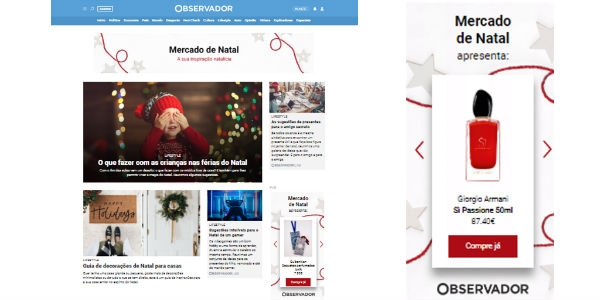 Mercado de Natal virtual? O Observador Lab tem