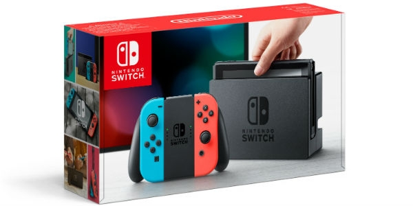 Nintendo Switch está a chegar a Portugal
