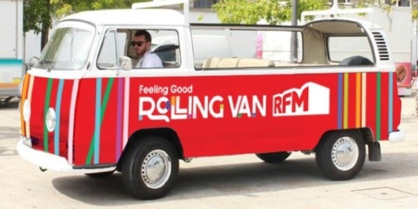 RFM conduz a Feeling Good Rolling Van