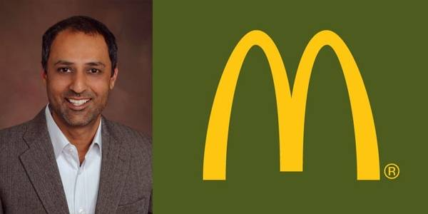 Ele é o primeiro chief digital officer da McDonald's