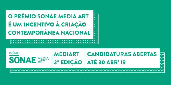 Já abriram as candidaturas para o Sonae Media Art