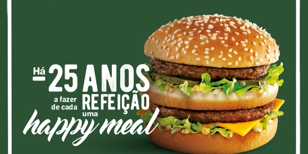 "TBWA celebra 25 anos de ""happy meals"" McDonald's"