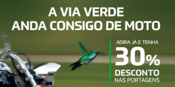 Via Verde mais digital para andar de mota
