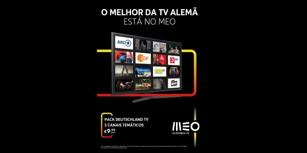 Fala-se alemão na TV do MEO