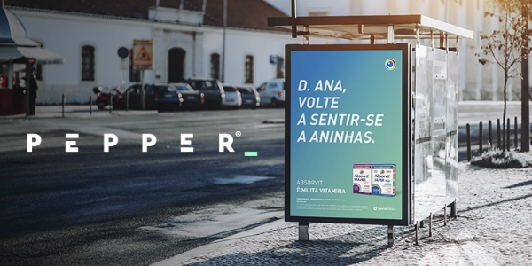 Absorvit leva Pepper e transforma-se