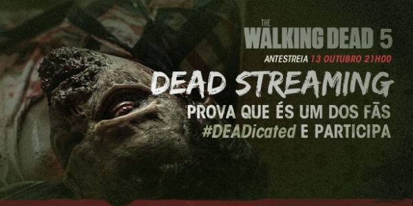 "By ativa ""The Walking Dead"" no facebook"