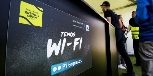 PT joga com tecnologia no Estoril Open