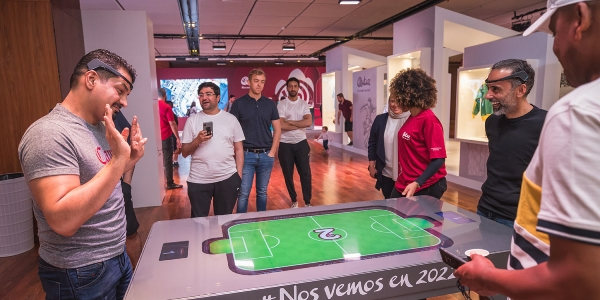 Jack, The Maker de um roadshow do Mundial 2022
