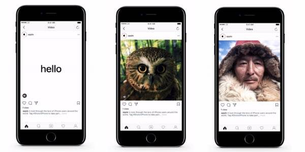 Apple chega ao Instagram com #ShotOnIphone
