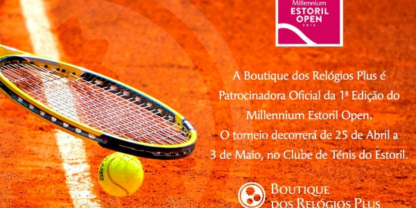 Boutique dos Relógios dá as horas no Estoril Open