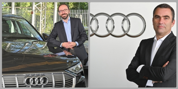 Marketing e Vendas da Audi são com o Ricardo e o Afonso