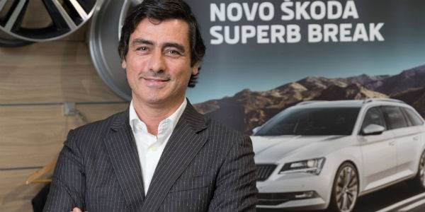 A missão do António? Colocar a Skoda no top of mind dos consumidores